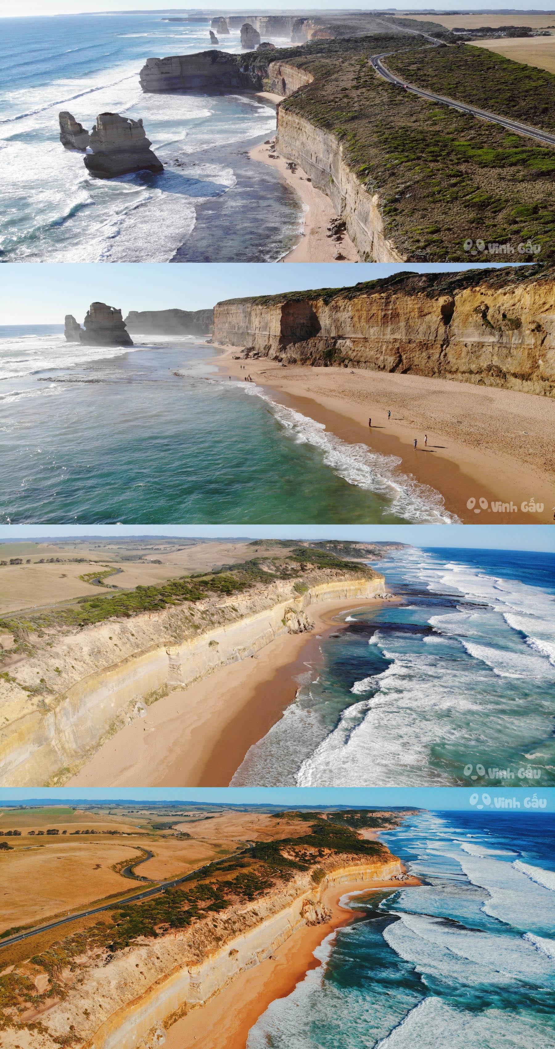 Du Lịch Melbourne - CON ĐƯỜNG GREAT OCEAN ROAD VÀ 12 VỊ TÔNG ĐỒ