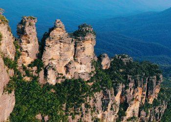 Du lịch Úc tự túc - Núi Three Sisters và hoàng hôn ở Blue Mountains